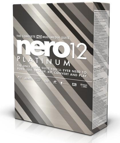 Новая версия Nero 12 была презентована в России на прошлой неделе