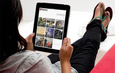 Flipboard запустил приложение для Android-планшетов