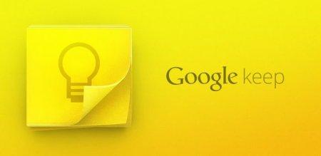 Google представила приложение для заметок на Android