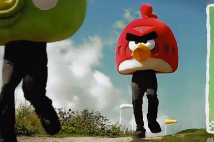Angry Birds – теперь и гонки