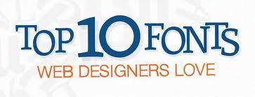 Шрифты в дизайне сайта