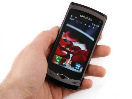 Смартфон Самсунга: модель S8500 Wave