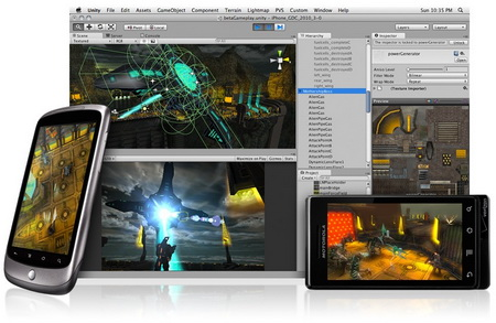 Разработка игр на Unity 3D для Android, iOS, PC