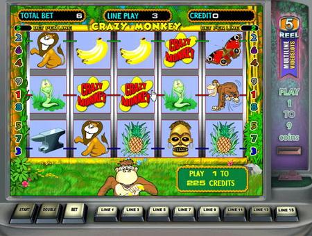 Crazy Monkey: обзор одного из самых популярных виртуальных игровых автоматов!