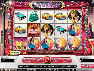Рокс казино - играем в слот Hot City (Жаркий город)