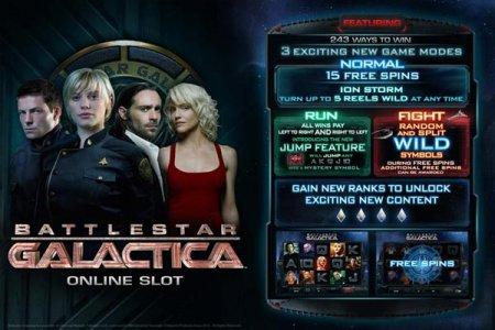 Играй в слот BattlestarGalactica от казино Буй бесплатно!